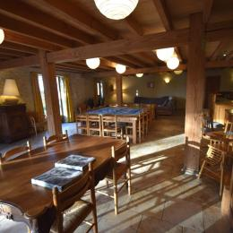 séjour et cuisine - Location de vacances - Dolmayrac