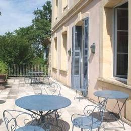 Breton le Grelle - terrasse - Chambre d'hôtes - Saint-Léger