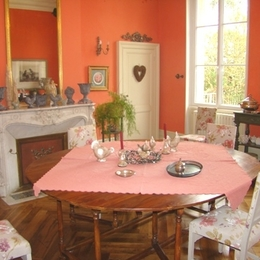 CDT 47 - salle de petit-d - Chambre d'hôtes - Saint-Léger