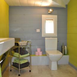 Salle de bain Hyla - Chambre d'hôtes - Saint-Urcisse