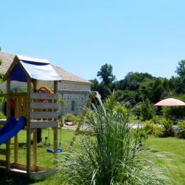 jeux enfant - Location de vacances - Bourran