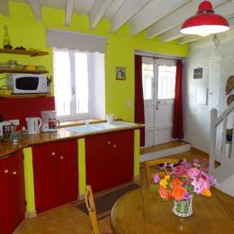 La pièce à vivre - Location de vacances - Penne-d'Agenais
