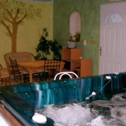 spa privé 6 places - Chambre d'hôtes - Penne-d'Agenais