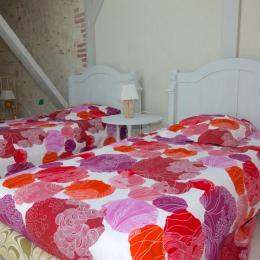 chambre2 suite familiale le four - Chambre d'hôtes - Penne-d'Agenais