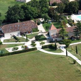 Vue d'ensemble du Domaine Le Vignal - Location de vacances - Monflanquin