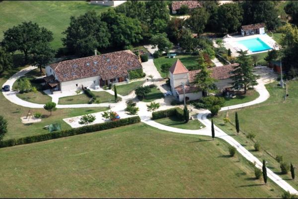 vue d'ensemble du Domaine - Location de vacances - Monflanquin