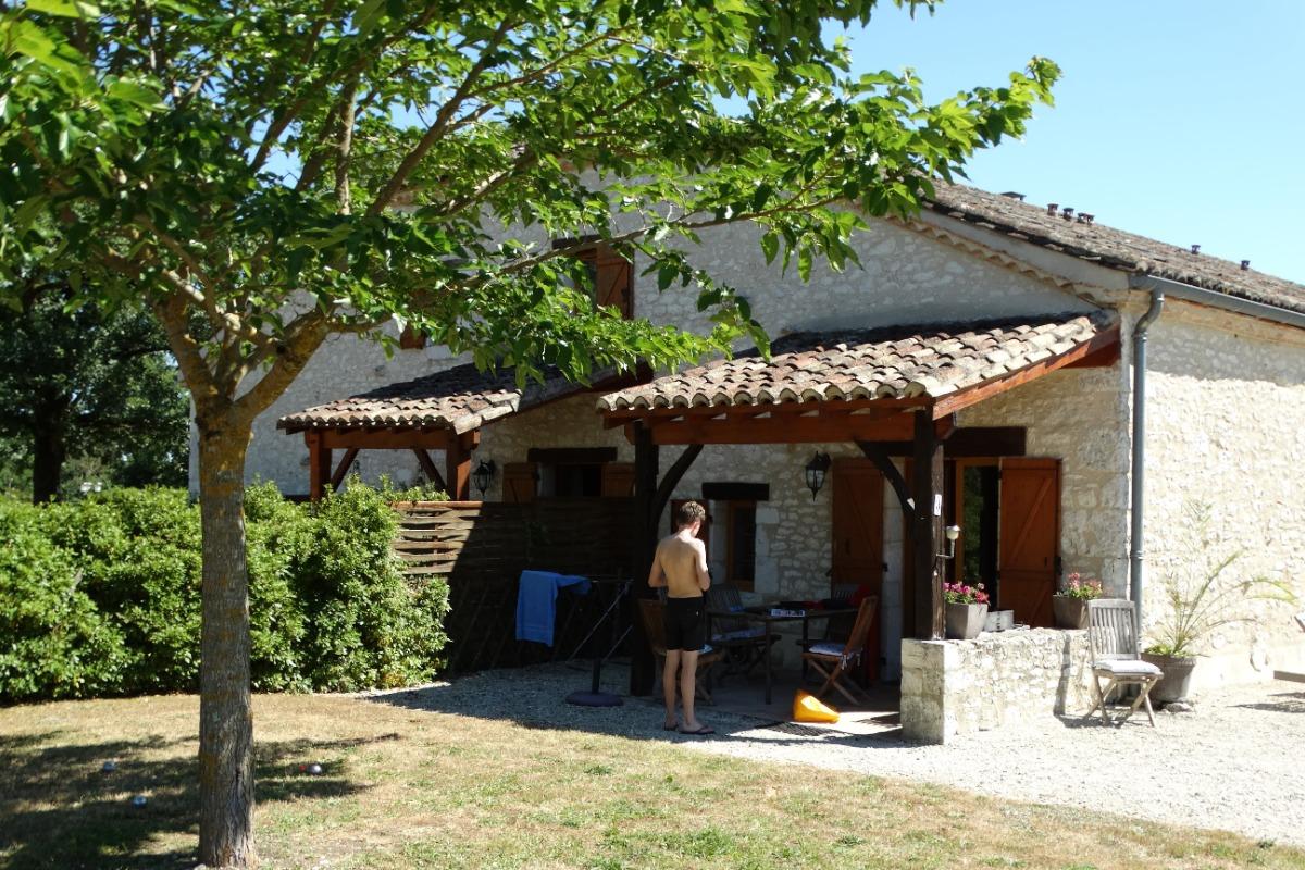 Le Vignal Gîte 3 Le Coin Extérieurs - Location de vacances - Monflanquin