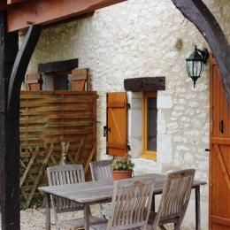 Le Vignal Gîte 3 Le Coin Salon de jardin - Location de vacances - Monflanquin
