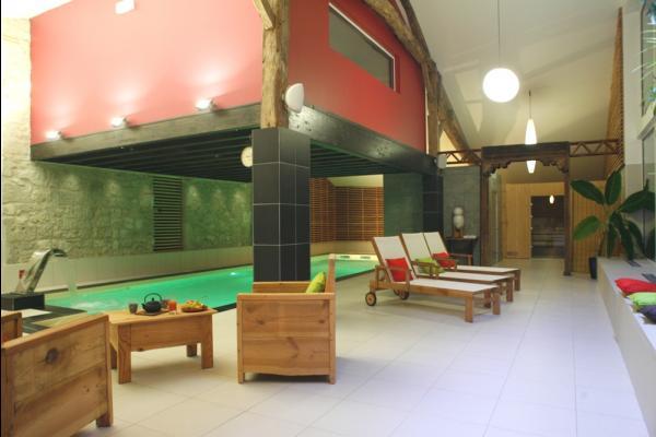 piscine du centre de bien-être - Chambre d'hôtes - Clermont-Dessous