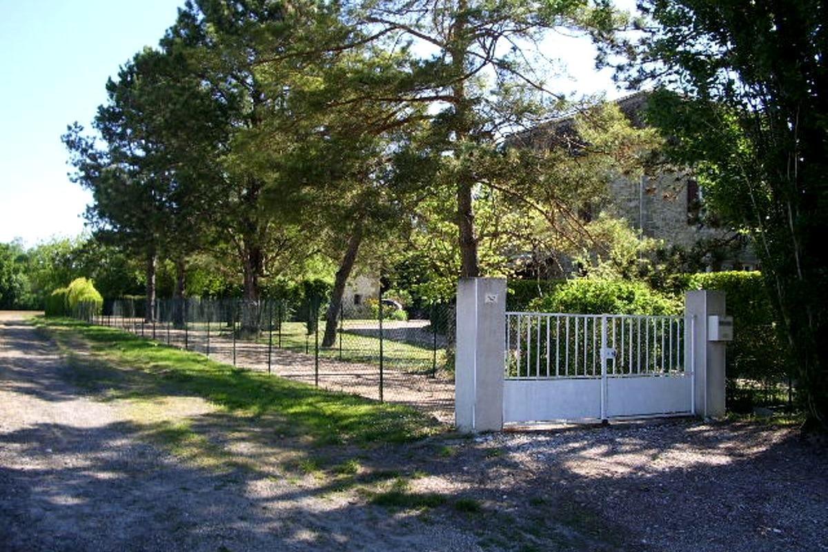 Entrée privative location - Location de vacances - Lauzun