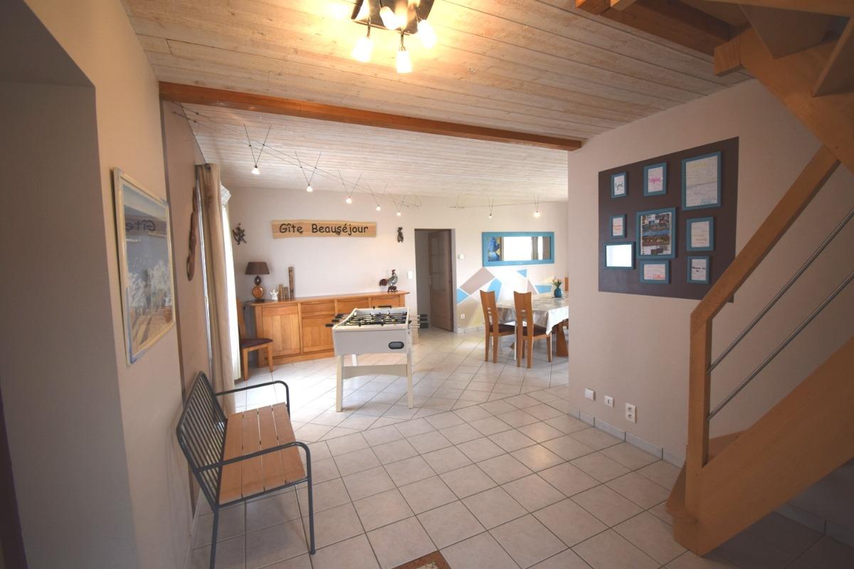 La salle de billard  - Location de vacances - Montignac-de-Lauzun