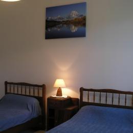 Chambre 2 - Location de vacances - Saint-Martin-de-Boubaux