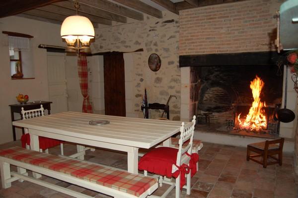 la salle barbecue - Location de vacances - Marcé