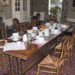 le salon - Chambre d'hôtes - Saumur St Lambert Des Levees