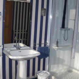 la salle d'eau - Chambre d'hôtes - Saumur St Lambert Des Levees