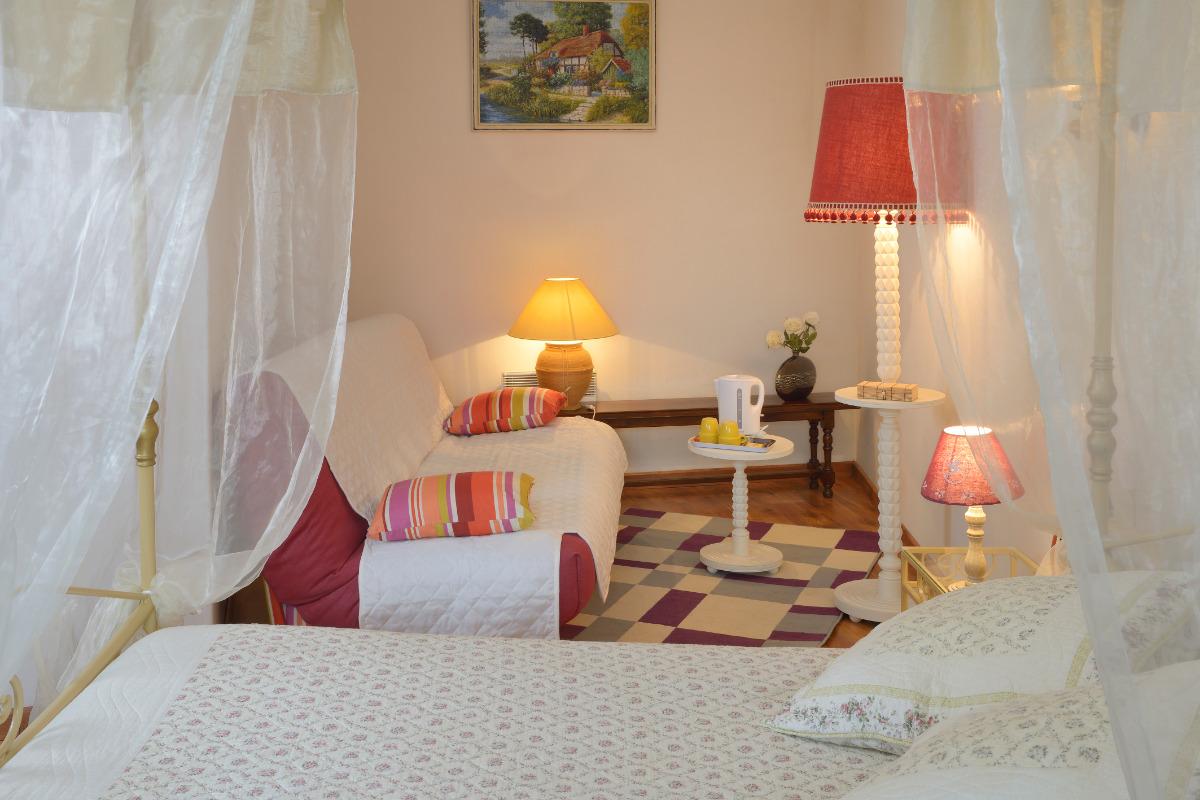 Salon - Chambre d'hôtes - Sainte-Gemmes-d'Andigné