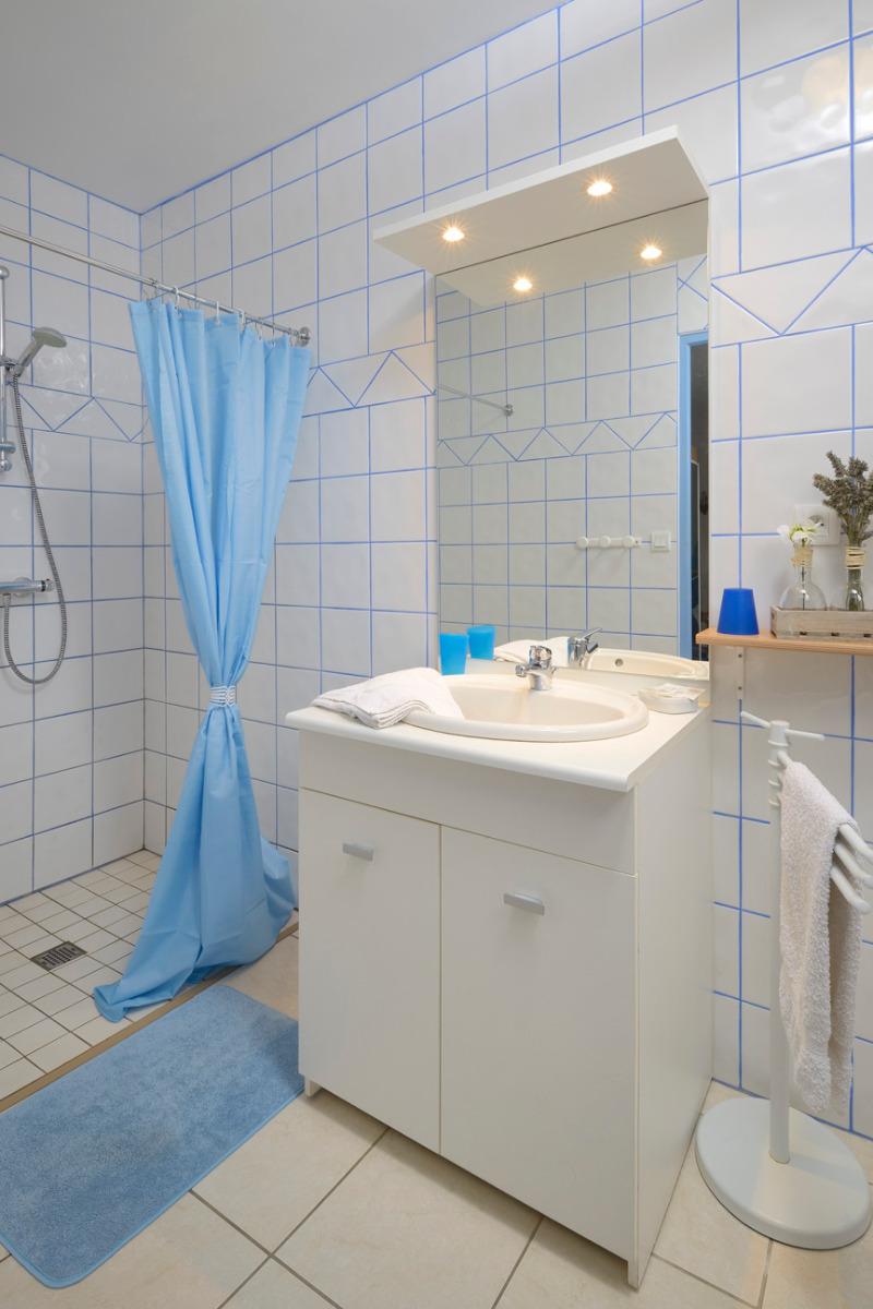 Salle de bain - Chambre d'hôtes - Sainte-Gemmes-d'Andigné