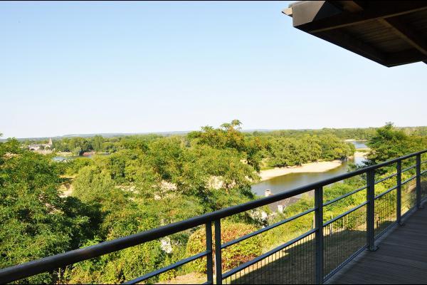 Le Belvédère de Loire et sa vue panoramique - Chambre d'hôtes - Chênehutte-Trèves-Cunault