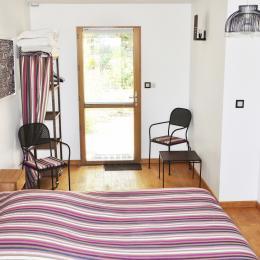 La salle d'eau de la chambre Prunus - Chambre d'hôtes - Chênehutte-Trèves-Cunault