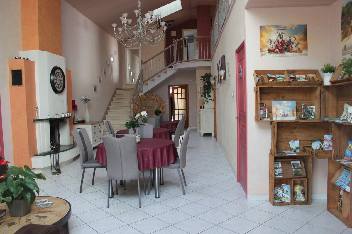 entrée - Chambre d'hôtes - Chemillé en Anjou