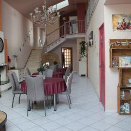 salle principale - Chambre d'hôtes - Chemillé en Anjou