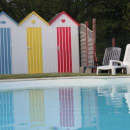 Cabanes de piscine - Chambre d'hôtes - Chemillé en Anjou