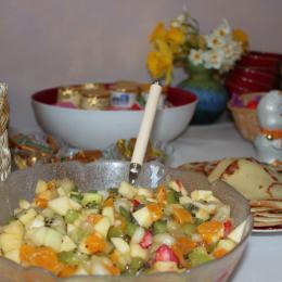 petit déjeuner - Chambre d'hôtes - Chemillé en Anjou