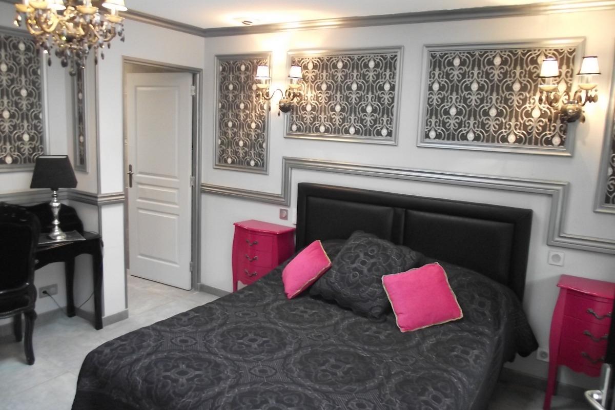 Chambre BAROQUE - 2 places - 1 lit double - Chambre d'hôtes - Saint-Germain-sur-Moine