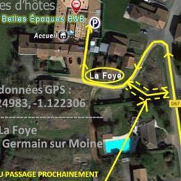 Piscine ouverte toute l'année intérieure et extérieure de 28 à 30° - Chambre d'hôtes - Saint-Germain-sur-Moine