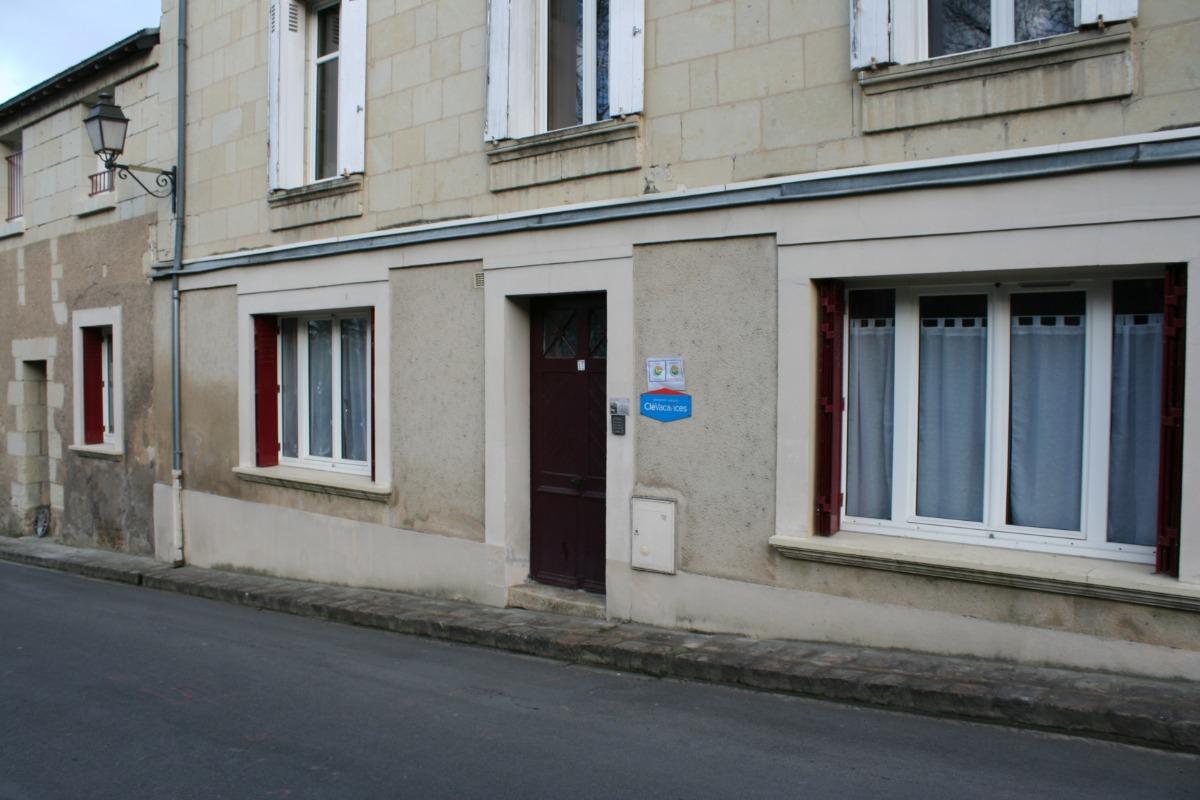 Entrée gite rue des douves - Location de vacances - Montreuil-Bellay