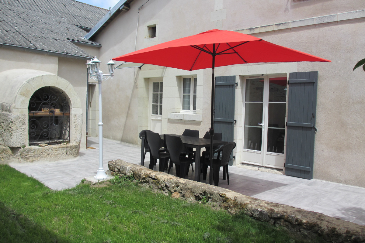 extérieur - Location de vacances - Montreuil-Bellay
