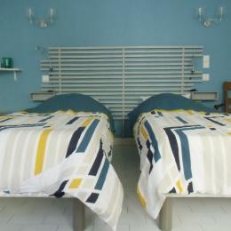 salle de douche - Chambre d'hôtes - Montreuil-Bellay