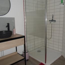 la salle de douche - Chambre d'hôtes - Montreuil-Bellay