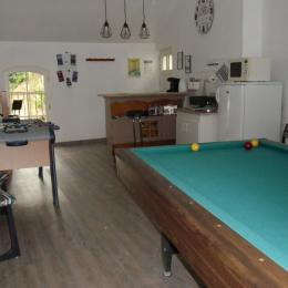 espace commun - Chambre d'hôtes - Montreuil-Bellay