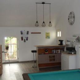 le coin cuisine - Chambre d'hôtes - Montreuil-Bellay