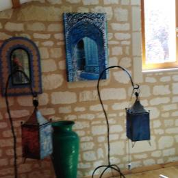 salle d'eau Gîte Les Médiévales  - Location de vacances - Courchamps