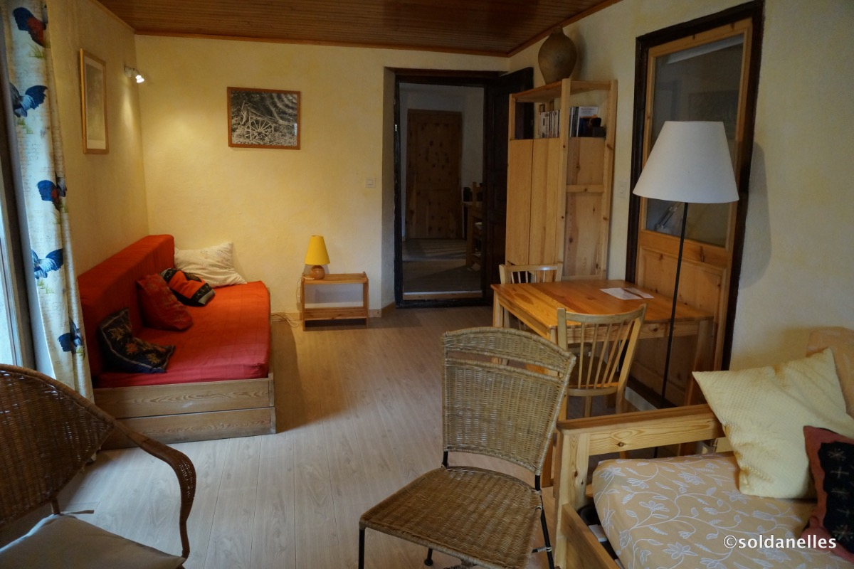Salon - Location de vacances - Saint-Véran