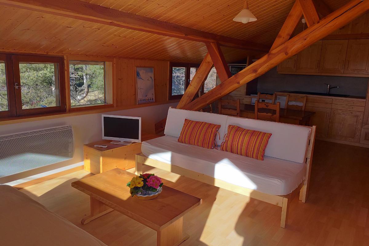 Gite à 5 min du lac de Serre-Ponçon et 15 min de la station de ski de Réallon (Alpes du Sud) - Location de vacances - Montgardin