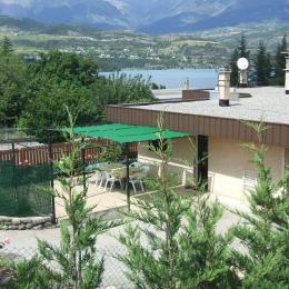 chambre 2 lits simples - Location de vacances - Savines-le-Lac