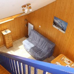 Bel appartement rénové, orienté plein sud, face aux glaciers de La Meije à La Grave (Alpes du Sud) - coin salon - Location de vacances - La Grave