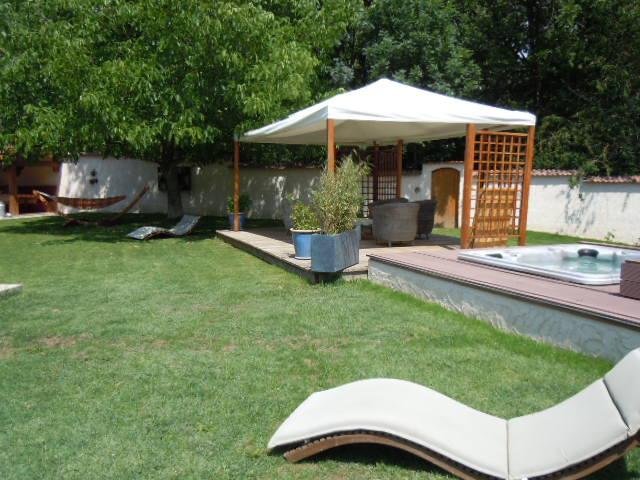 La maison et le jardin  - Location de vacances - Jarjayes