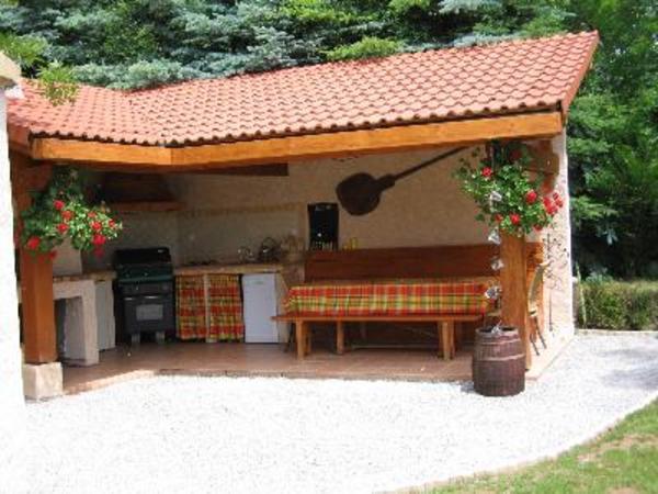 La maison et la jardin - Location de vacances - Jarjayes