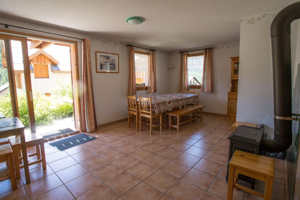 ancolie salon  - Location de vacances - Névache
