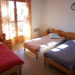 ancolie chambre  - Location de vacances - Névache