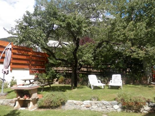 Coin repos dans le Jardin - Location de vacances - Briançon