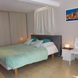 Chambre 1 avec lits séparés  - Location de vacances -