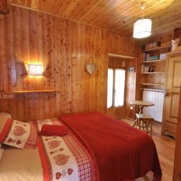 chambre lilt 140x200 niveau 1 - Location de vacances - La Salle-les-Alpes