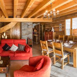 Superbe chalet à louer en matériaux écologiques à proximité des pistes de ski (Alpes du Sud - Hautes Alpes - Saint-Michel-de-Chaillol) - Location de vacances - Saint-Michel-de-Chaillol