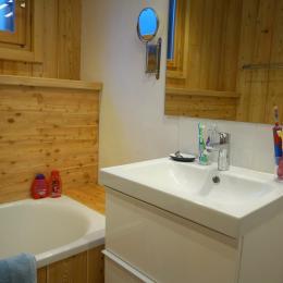Chambre avec ses 4 lits d'1 personne - Location de vacances - Saint-Véran