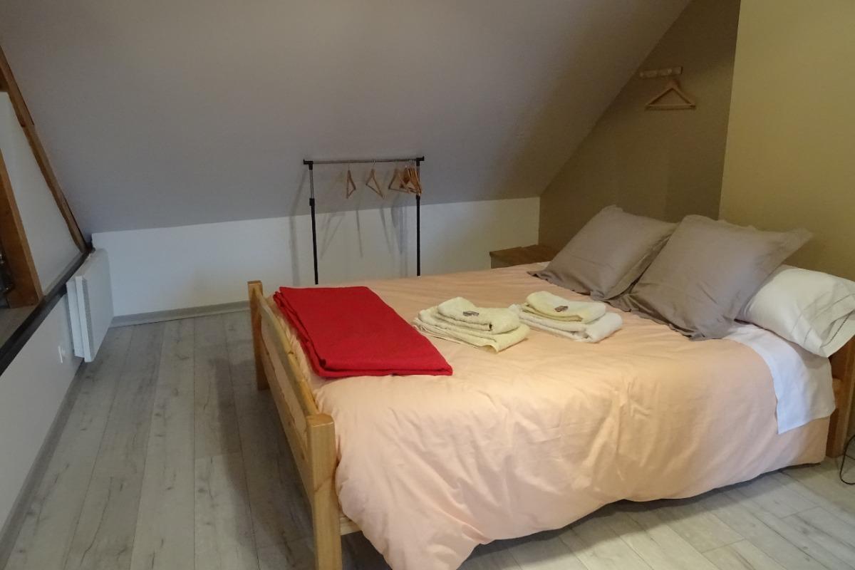 Couchage en 160 - Chambre d'hôtes - Montmaur